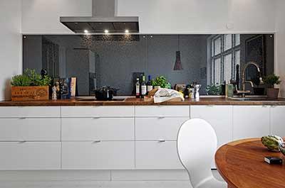 imagens de cozinhas com espelhos