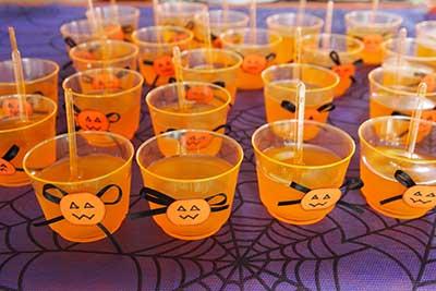 fotos de decoração de halloween