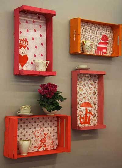 Sugest es de decora o com reciclagem fotos ideias dicas for Objetos baratos para decorar