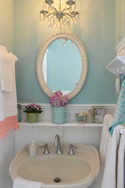 Faça Você Mesmo Sua Decoração Vintage Fotos, Dicas -> Decoracao De Banheiro Com Louca Preta