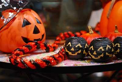 imagens de decoração de halloween