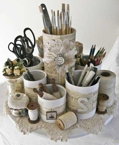 imagens de decoração com reciclagem