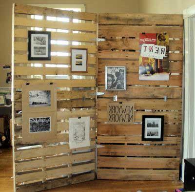 fotos de decoração com paletes