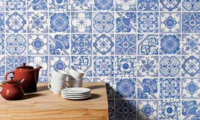 Decora o com azulejos portugueses fotos modelos dicas - Azulejos portugueses comprar ...