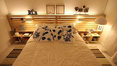 Sugest es de decora o com paletes ideias dicas fotos for Como hacer una cama japonesa paso a paso