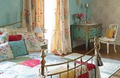 moda vintage de decoração