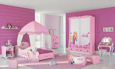 50 dicas de decora o da barbie para quarto feminino for Decoracion de cuartos para nina de 7 anos