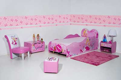 decoração de quarto feminino