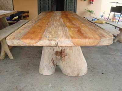 fotos de mesas de madeira