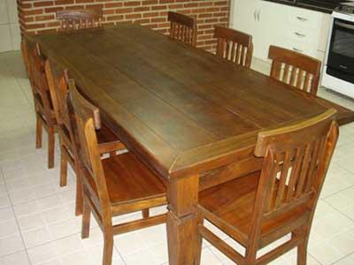 Decora o com mesas r sticas fotos dicas modelos for Mesas de centro rusticas baratas