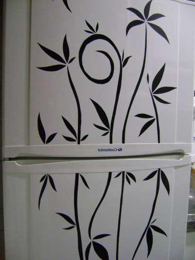 geladeira decorada