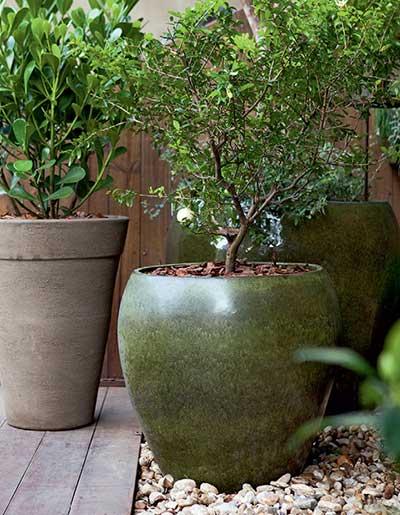 modelos de vasos para jardins