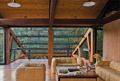 foto de casa de campo decorada