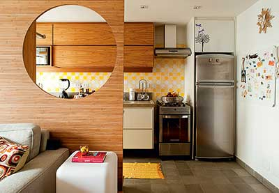 Dicas de decora o para cozinhas pequenas - Decorar la casa barato ...
