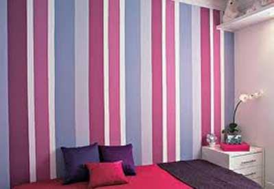 como decorar com papel de parede