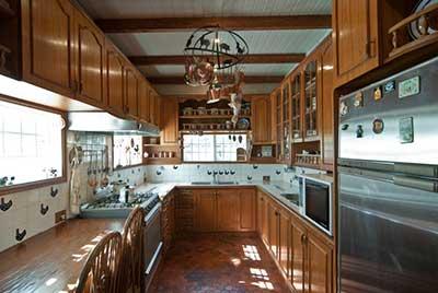 cozinhas para casa de campo