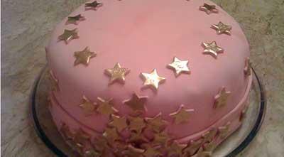 bolos decorados com pasta