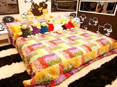 foto de cama de casal
