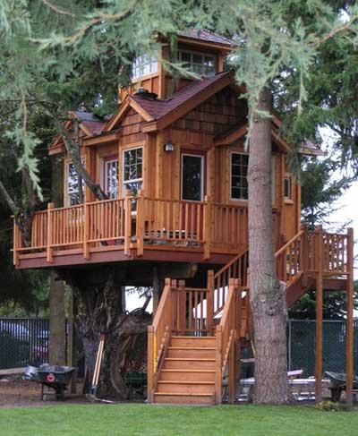 Como Fazer/Montar Casas na Árvore + Fotos