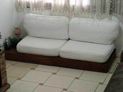 dicas de sofás de paletes