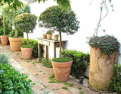 vasos para jardins