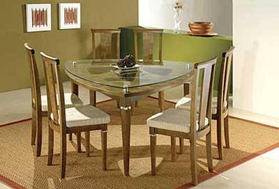 dicas de mesas triangulares