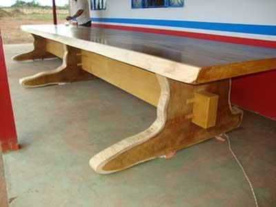 Decora o com mesas r sticas fotos dicas modelos for Modelos de mesas rusticas de madera