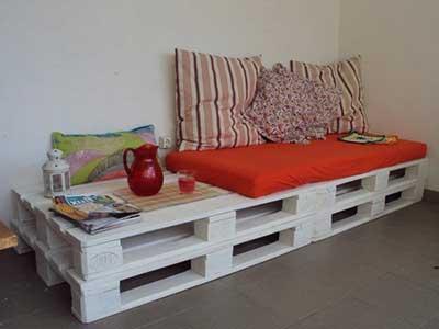 sofás de paletes