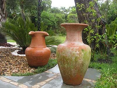 fotos de vasos para jardins