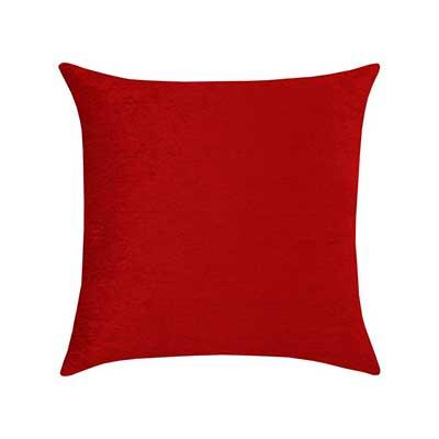 modelo de almofada vermelha
