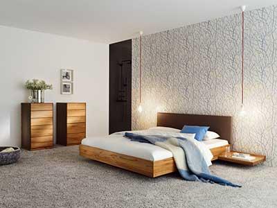 modelo de cama de madeira