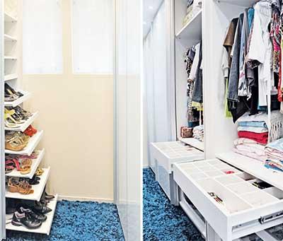 Closets pequenos modernos funcionais bonitos e decorados for Modelos de closets para dormitorios pequenos