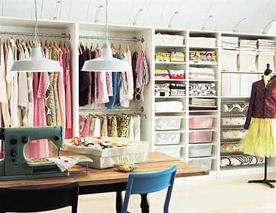 para organizar roupas