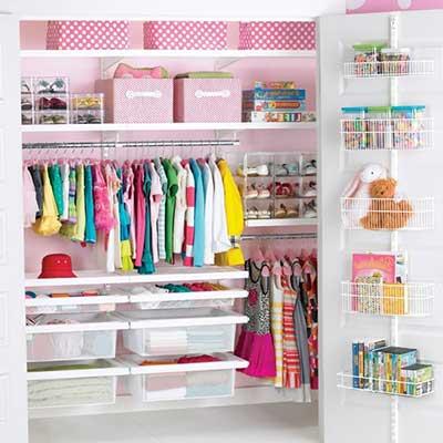 dicas de decoração de closets
