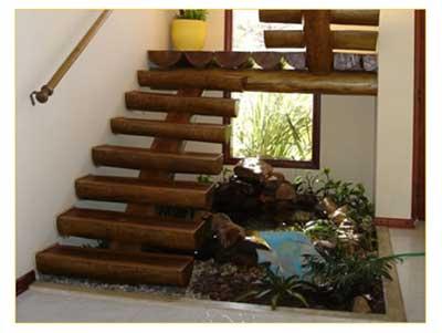 dicas de escadas de madeira