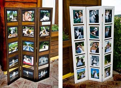 como decorar com fotos