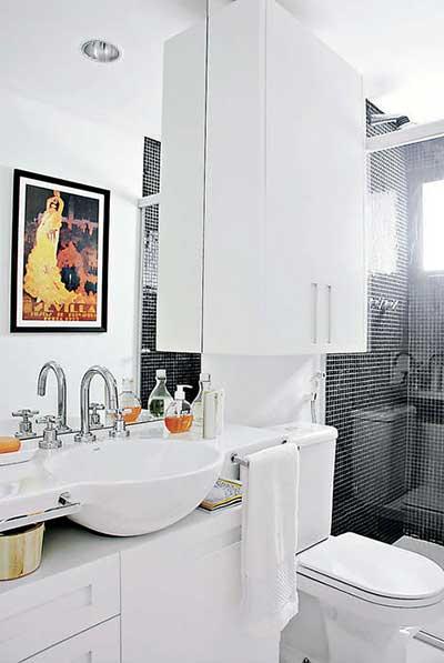 dicas e modelos de quadros para banheiros