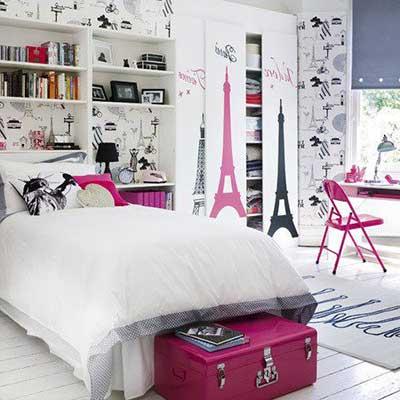 30 decora o para quarto juvenil masculino e feminino - Slaapkamer van een meisje ...