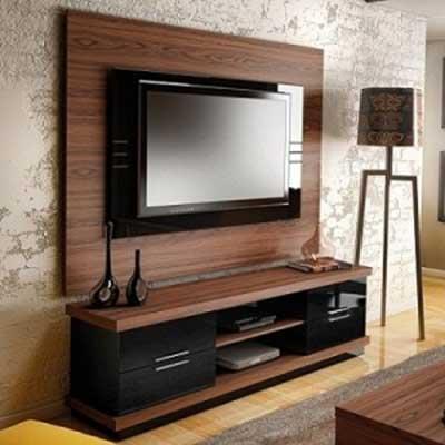Wooden Tv Wall