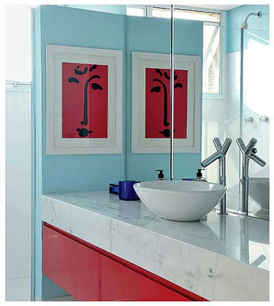 Quadros para decorar banheiros fotos dicas modelos for Modelos de comedores modernos 2016