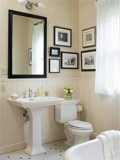 Quadros para decorar banheiros fotos dicas modelos - Cuadros para el bano modernos ...