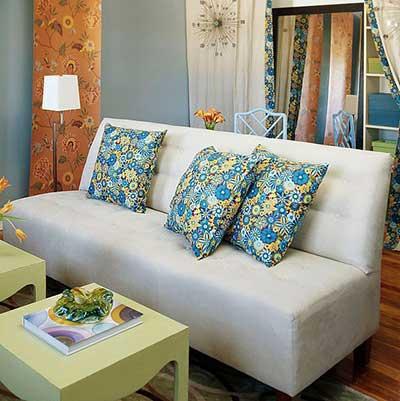 sofás pequenos