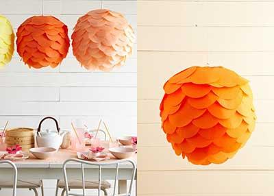 dica de decoração com papel de seda