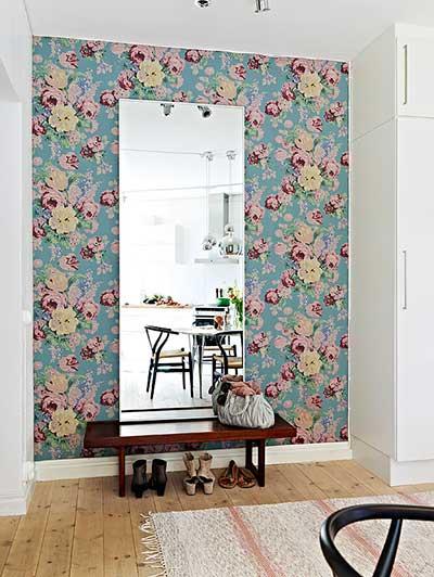 Como fazer decora o de paredes com tecidos - Aplicacion para decorar casas ...