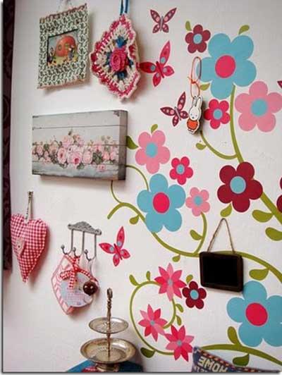 decoração com tecidos de paredes