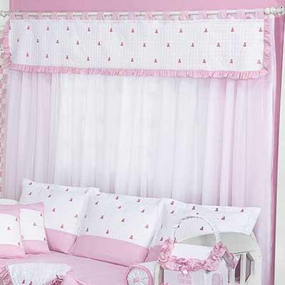 cortinas para quarto de bebê