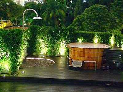 jardins iluminados