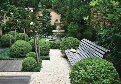 dica de decoração de jardim