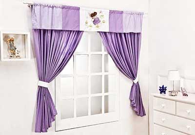 imagens de cortinas para quarto de bebê