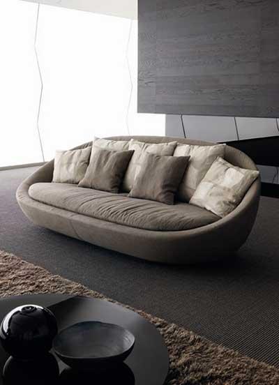8 dicas de decora o com sof s pequenos - Modelos de cojines para sofas ...